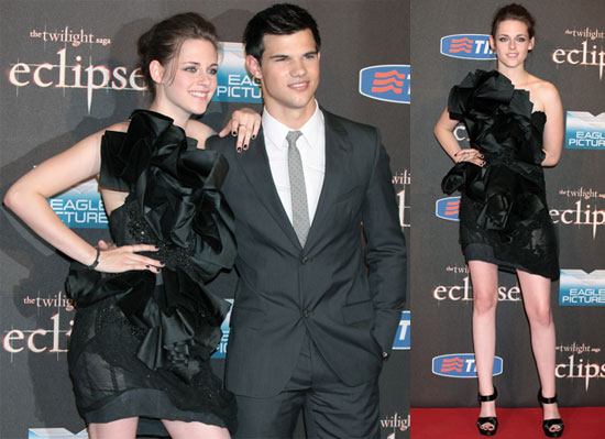 Pictures of Kristen Stewart and Taylor Lautner