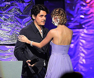 Slide Picture of John Mayer and Taylor Swift at Songwriters Hall of Fame