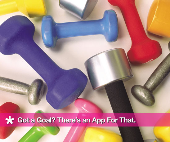 Got a Goal? There's an App For That.