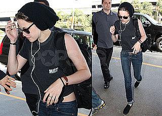 Pictures of Kristen Stewart at LAX