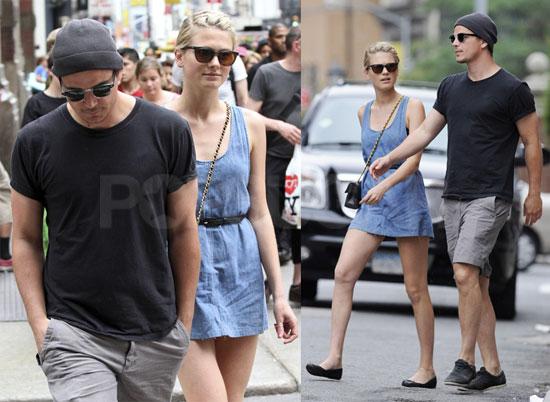 Pictures of Josh Hartnett and Girlfriend Sophia Lie in NYC