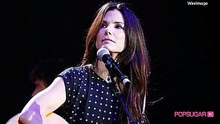 Video of Sandra Bullock at Nashville Rising Concert