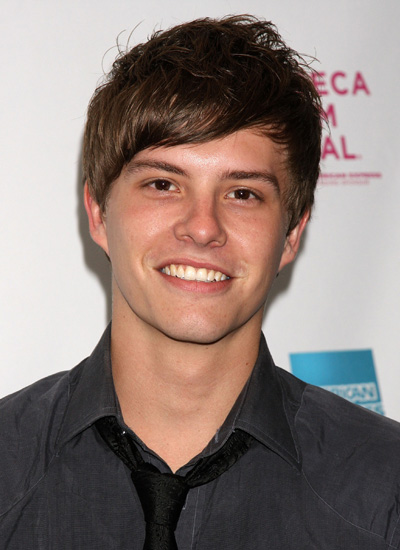 Xavier Samuel in April 2008: Premiere of Newcastle at the Tribeca Film Festival