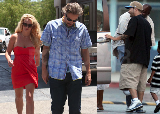 Pictures of Britney Spears and Kevin Federline at Sean Preston's Graduation, Also Jason Trawick