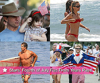 Pictures of Celebrities on Fourth of July