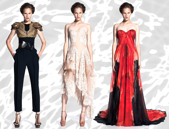 Photos of Sarah Burton's First Alexander McQueen 2011 Cruise Collection
