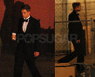 Pictures of Robert Pattinson in Tuxedo Filming Water For Elephants