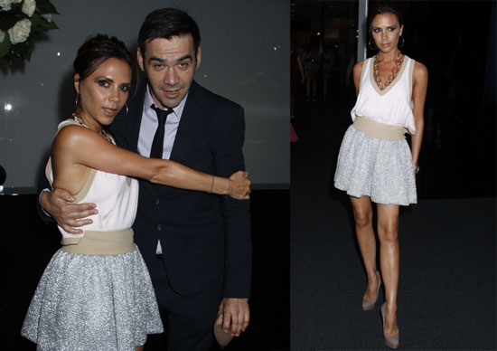 Victoria Beckham Celebrates Another Anniversary in London