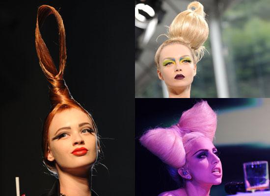 Trend Alert: Sculptural Hair Pieces!