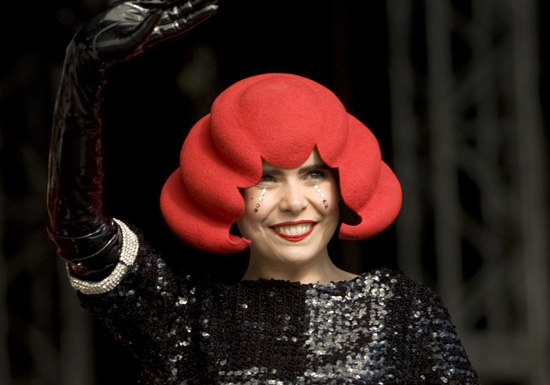Photos of Paloma Faith at T in the Park 2010 in Scotland