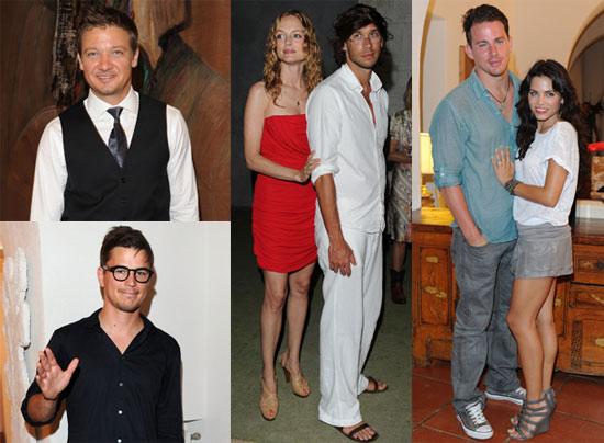 Channing Tatum, Jeremy Renner, Jenna Dewan, Sofia Vergara, Heather Graham, Josh Hartnett at Ischia Film Festival