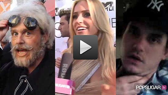 Video of The Hills Cast at the Finale Party, Video of Spencer Pratt Dressed as an Old Man, and Video of John Mayer Talking About