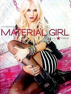 "Taylor Momsen Revealed as Madonna's ""Material Girl"""
