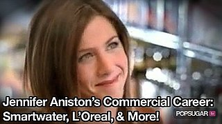 Video of Jennifer Aniston in Commercials