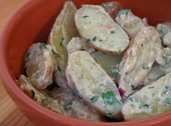 Fast and Easy Recipe For French Fingerling Potato Salad
