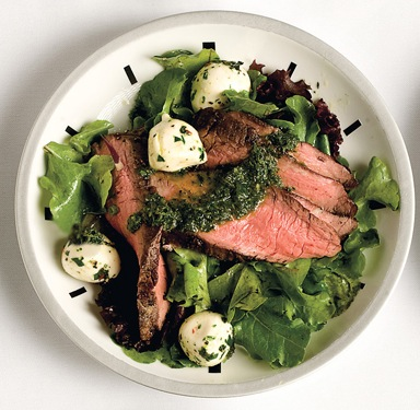 Flank Steak Salad Recipe