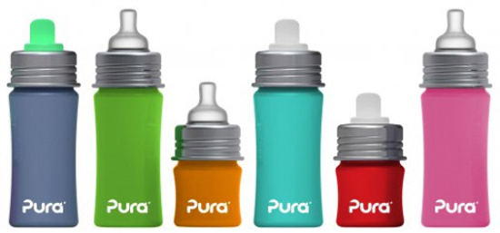 Pura Kiki Stainless Steel Bottles Adapt For the Whole Family