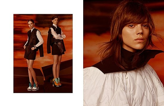Freja Beha Erichsen Caps Off Fall 2010 Campaign Sweep with Balenciaga