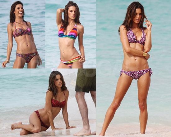 Pictures of Alessandra Ambrosio Bikini