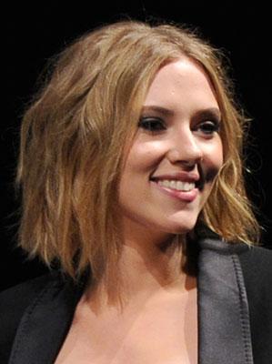 Picture of Scarlett Johansson's New Bob