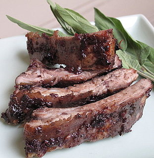 Recipe For Blueberry-Glazed Ribs