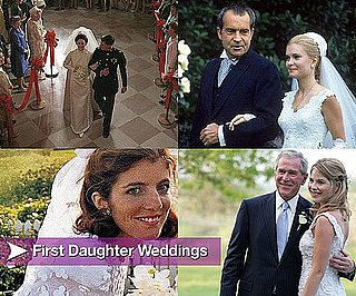 Pictures of First Daughter Weddings