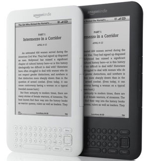 Pictures of the New Kindle
