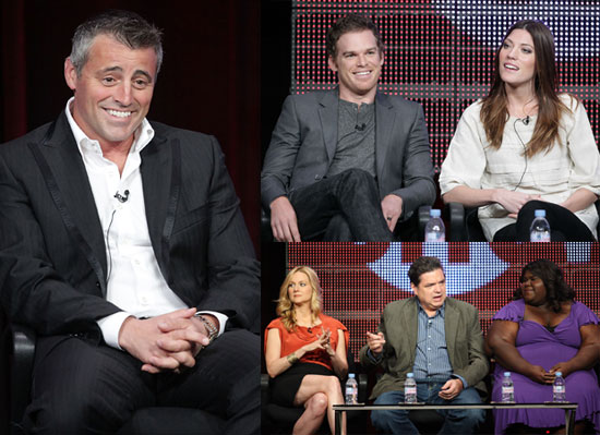 Pictures of Ed Westwick, Michael C Hall, Matt LeBlanc at Showtime and CW TCA Day 2010-07-30 04:00:00