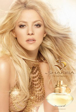 Shakira to Launch a New Fragrance 2010-07-30 11:00:01