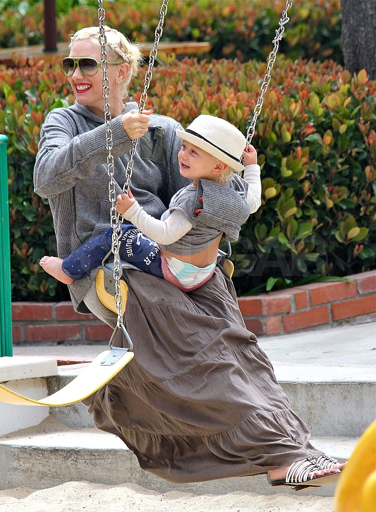 Pictures of Gwen Stefani and Kids