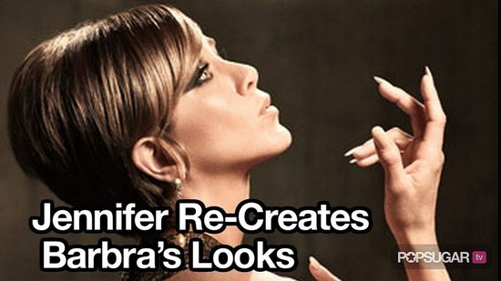 Video of Jennifer Aniston Dressed Like Barbra Streisand in Harper's Bazaar