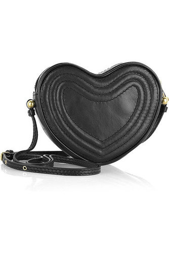 Marc by Marc Jacobs | Leather heart shoulder bag | NET 195