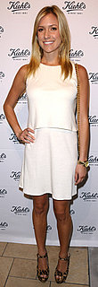 Kristin Cavallari Wears Ivory Dress and Leopard Pumps to Kiehl's Opening