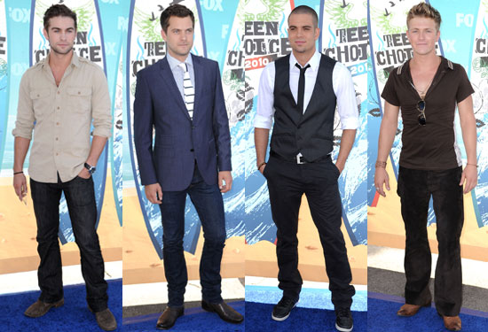 Pictures of Chace Crawford, Joshua Jackson, Charlie Bewley, Mark Salling and More on 2010 Teen Choice Awards Red Carpet