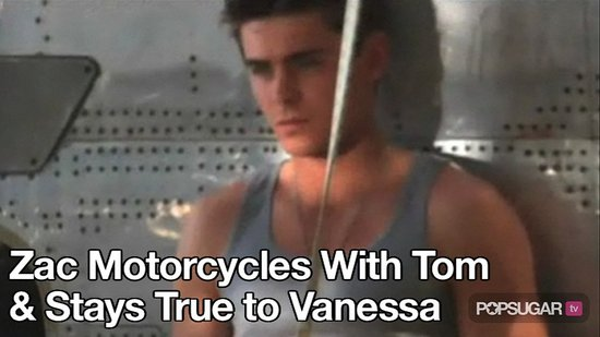 Video of Zac Efron Shooting His Details Magazine Cover