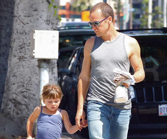 Slide Picture of Peter Sarsgaard and Ramona in LA