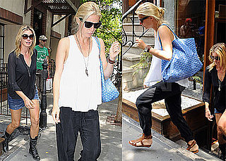 Gwyneth Paltrow Joins Faith Hill For Lunch in NYC
