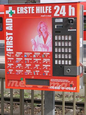 Vending Machine Pregnancy Tests