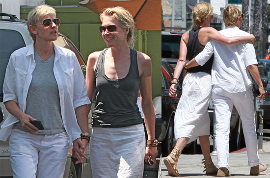 Pictures of Ellen and Portia