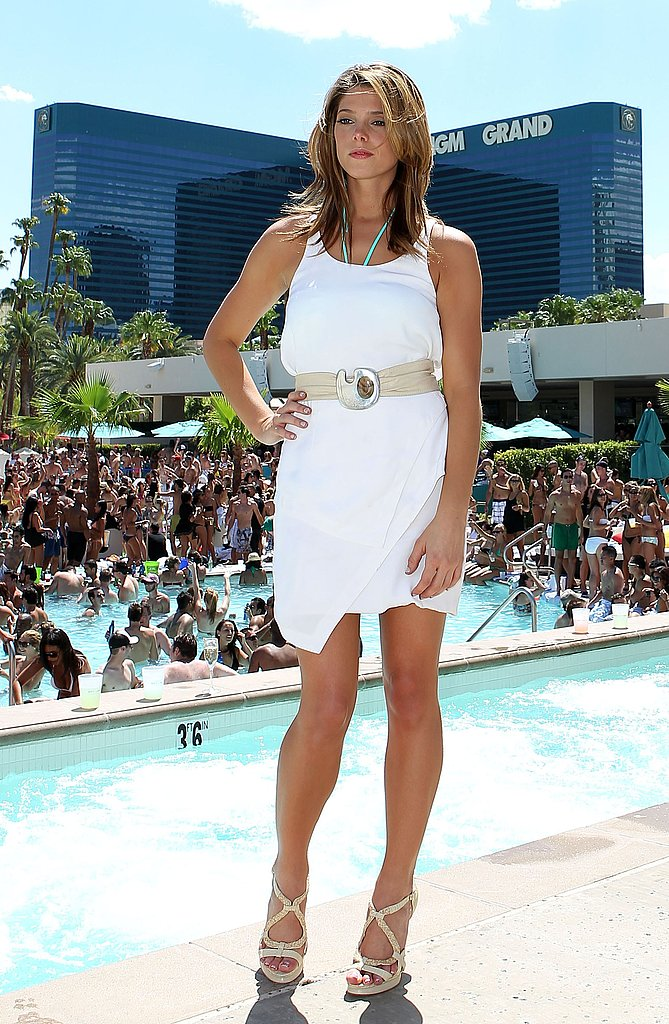 White dresses for pool party