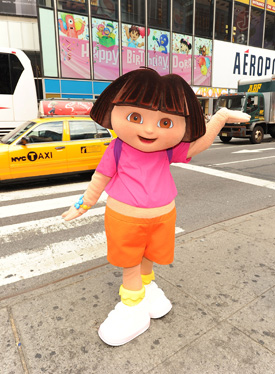 Lil Links: Dora the Explorer Is Turning 10 This Weekend