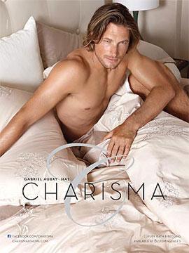 PopSugar Poll: Gabriel Aubry Strikes a Shirtless Pose in Bed —Wanna Crawl in or Sleep Alone?