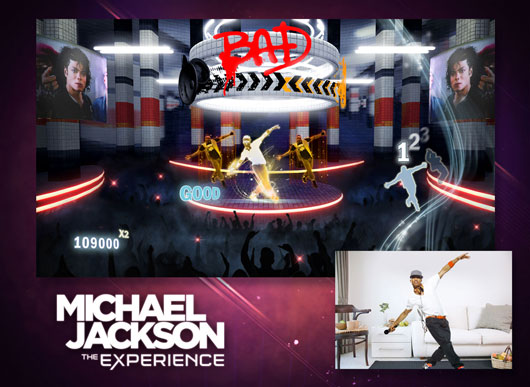 Michael Jackson Video Game Details