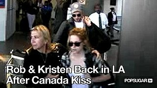 Video of Robert Pattinson and Kristen Stewart at LAX