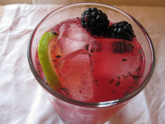 Blackberry-Thyme Margarita Recipe