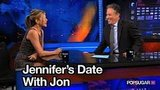 Video of Jon Stewart Talking About His Date With Jennifer Aniston