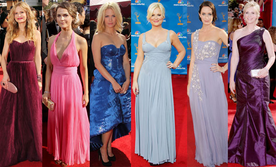 2010 Primetime Emmy Awards Red Carpet Dresses