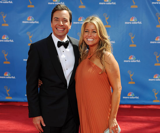 Slide Picture of Jimmy Fallon at Red Carpet