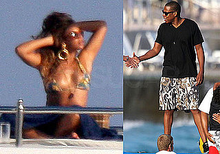 Pictures of Beyonce Knowles in a Bikini