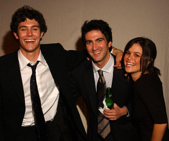 Adam Brody and Rachel Bilson hung out with OC creator Josh Schwartz at a 2003 Emmys after party.